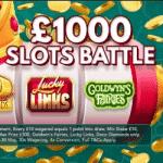 A £1000 Slots Battle at casino Slotsino