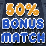 50% Bonus Match from the Spin Princess casino