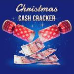 A Christmas Cash Cracker drop at Spin Vegas