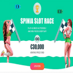 Monthly Prize Fund: €30,000 - Spinia Slot Race
