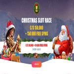 Spinia Xmas Slot Race: €/$150K + 150,000FS