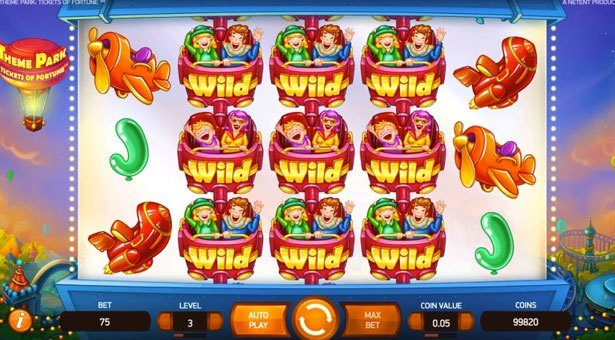 Theme Park: Tickets of Fortune Video Slot from NetEnt