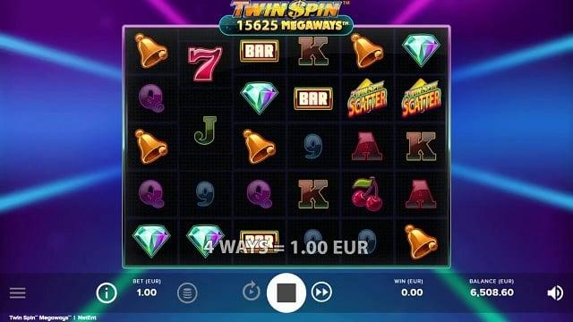 Twin Spin MegaWays Video Slot - NetEnt