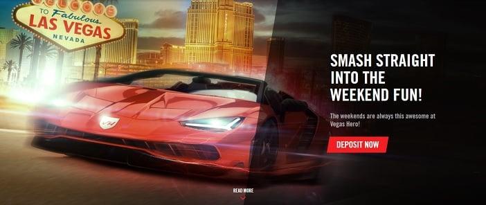 Vegas Hero Casino Promotion