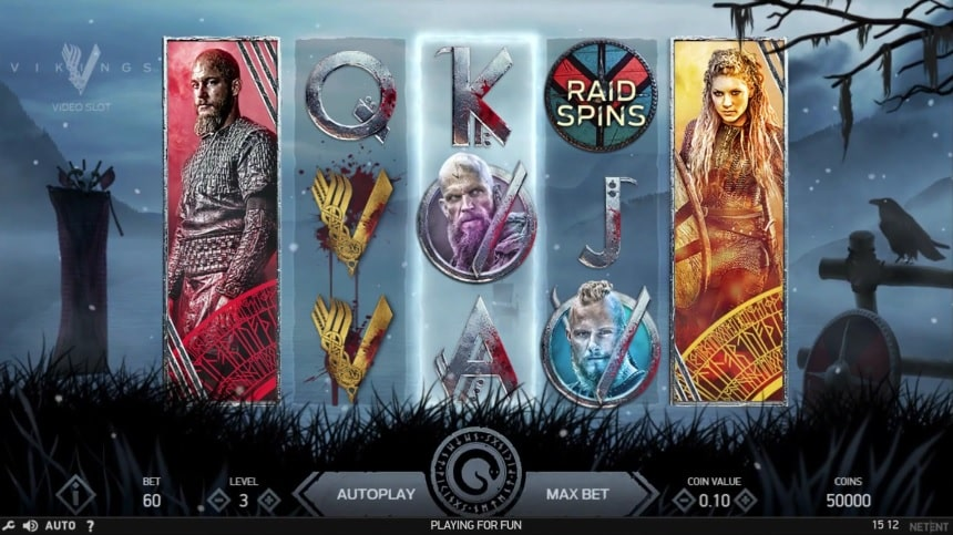 Vikings Video Slot - NetEnt