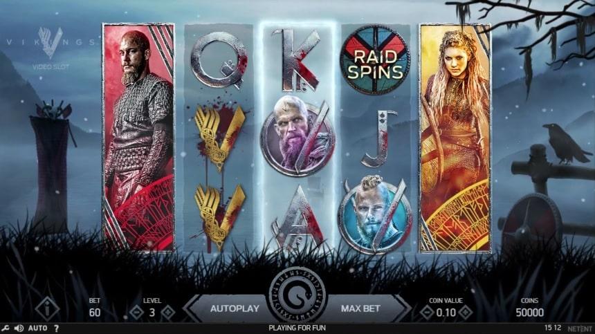 Vikings Video Slot - NetEnt