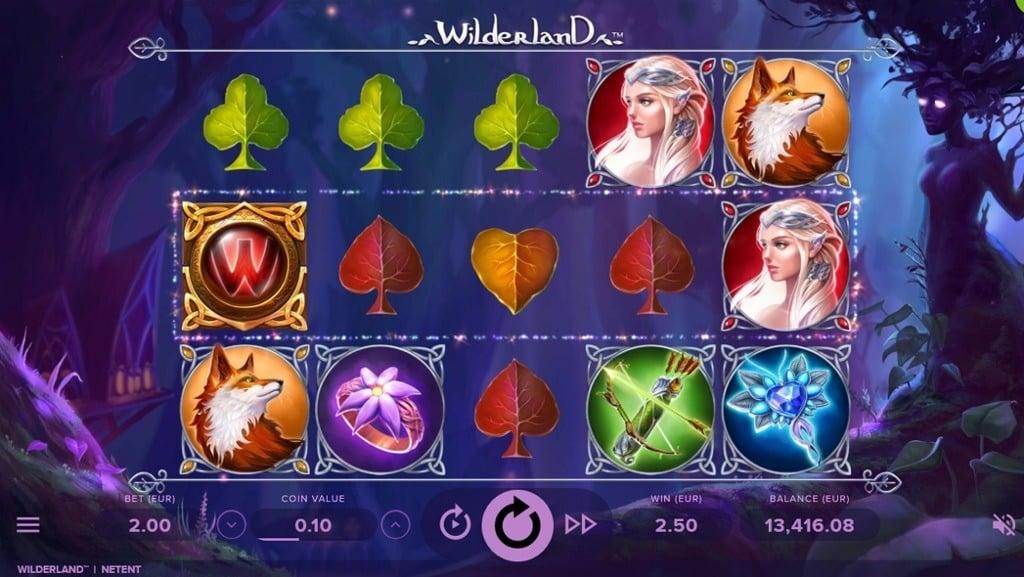 Wilderland Video Slot - NetEnt