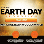 Celebrate the Earth Day promotion at WildSlots