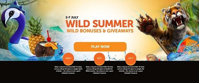 WildSlots Casino Free Spins