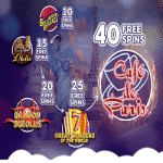 Weekend World Tour: 40 Free Spins at Wink Slots