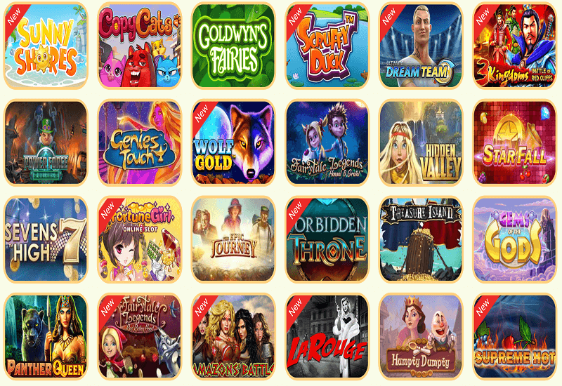 YoYo Casino Video Slots