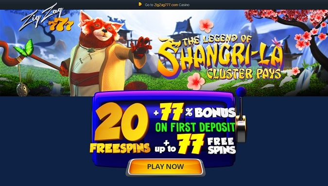 ZigZag777 Casino Promotion